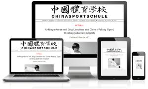 Chinasportschule.ch powered by Centifa Webdesign Bern
