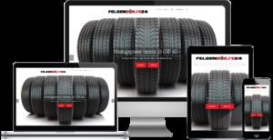 Felgenbörse24.ch powered by Centifa Webdesign Bern